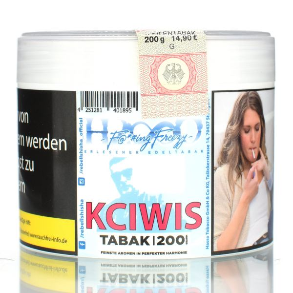 """Hasso F@*#ING """"Freezy KCIWIS"""" 200g"""