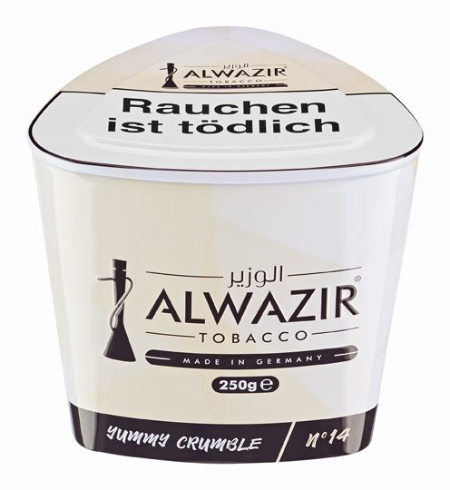 "Al Wazir Tobacco ""No 14 Yummy Crumble"" 250g"