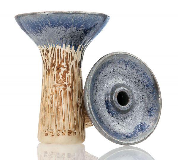Werkbund Hookah Phunnel Spot Glazed Silver
