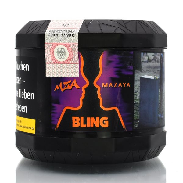 "MZA by Mazaya Tabak ""Bling"" 200g"