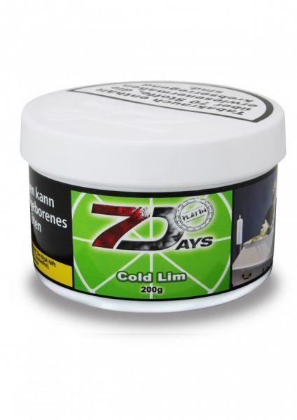 7 Days Tabak Platin 200g - Cold Lim