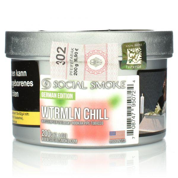 Social Smoke Tobacco 200 g - WTRMLN Chill