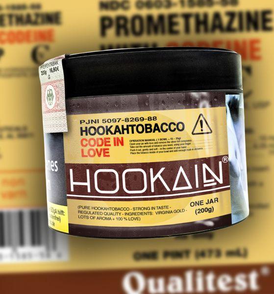 Hookain Tobacco 200g | CODE IN LOVE