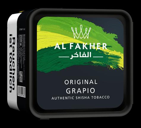 Al Fakher Tabak 200g - Grapio