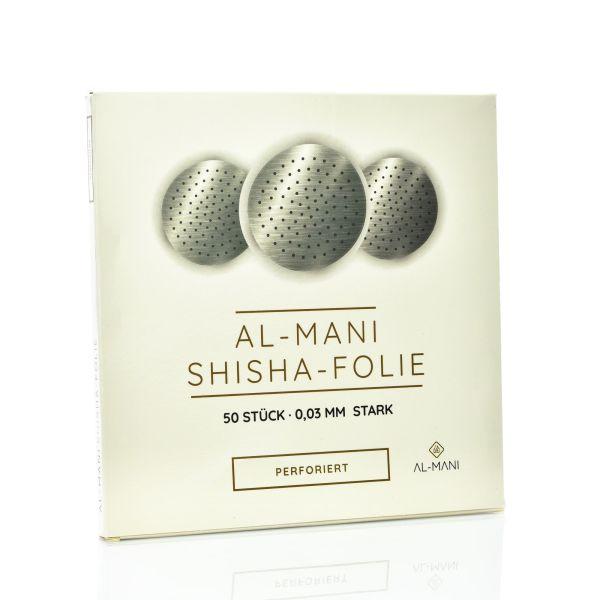 Al-Mani Shisha Folie Gelocht