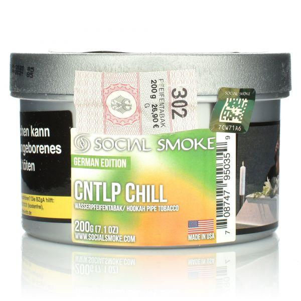 Social Smoke Tobacco 200 g - CNTLP Chill