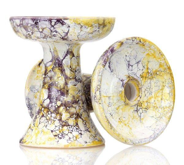 Magma Bowl Shisha Tabakkopf Viola Yellow Violet