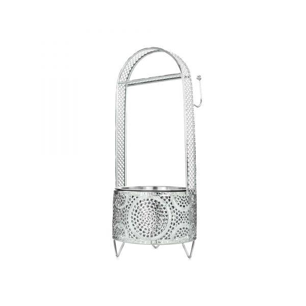 Cyborg Hookah - Kohlenbehälter Circle Silber Klein