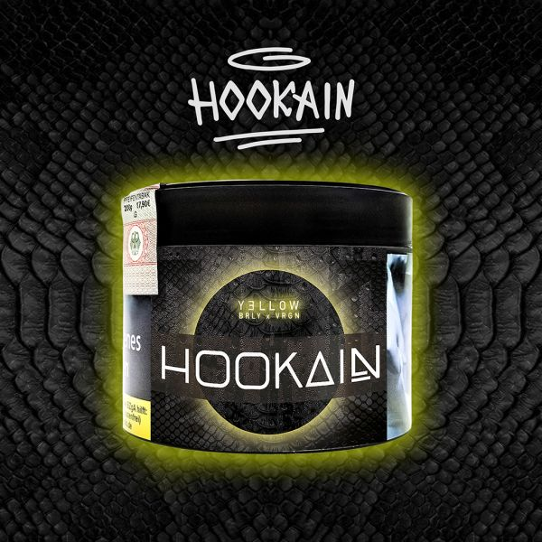 Hookain Tobacco 200g | Yellow