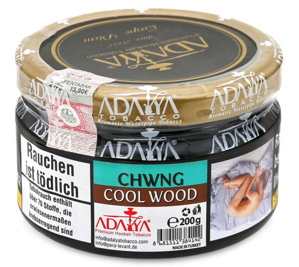 Adalya Tobacco | Chwng Cool Wood 200g