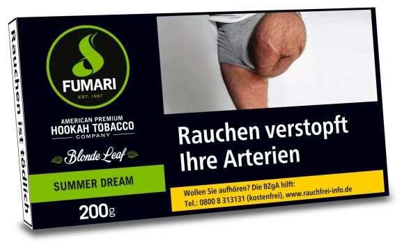 Fumari Tobacco 200g - Summer Dream (Orange Crean)