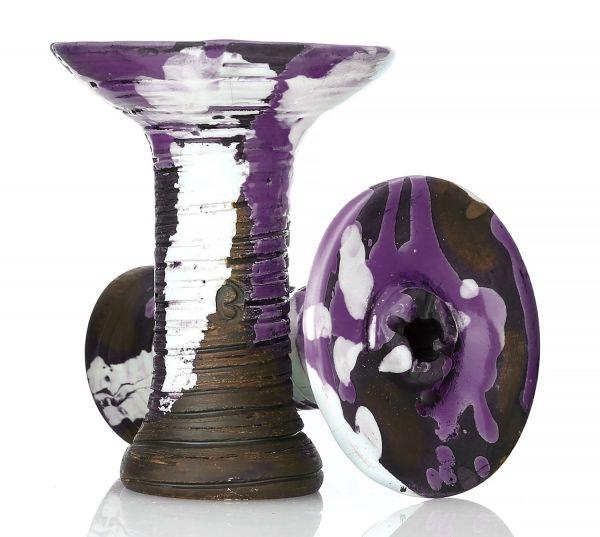 Vintage Alien Flat Shisha Phunnel Purple