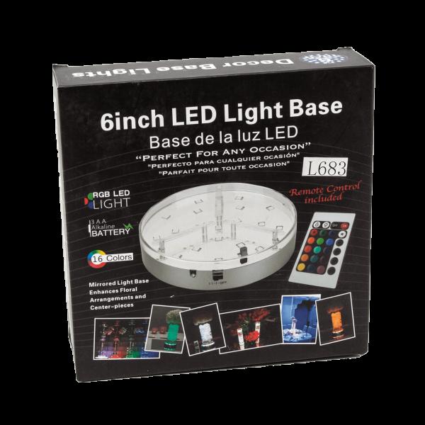 LED Light Base 6 Inch
