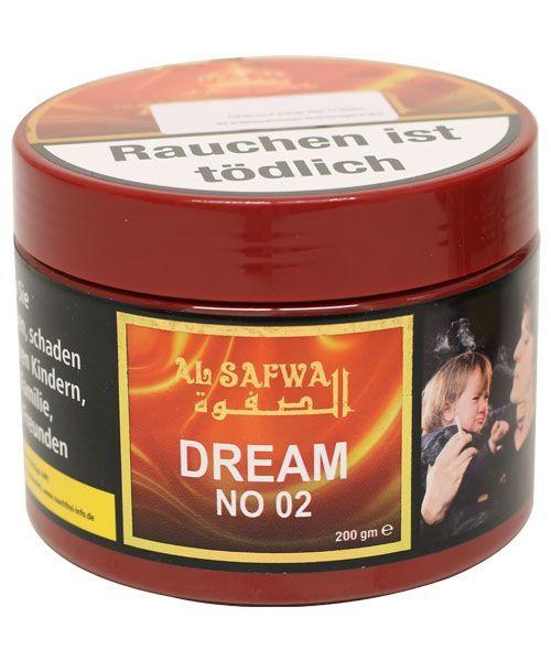 """Al Safwa Premium Tobacco """"Dream No 02"""" 200g"""