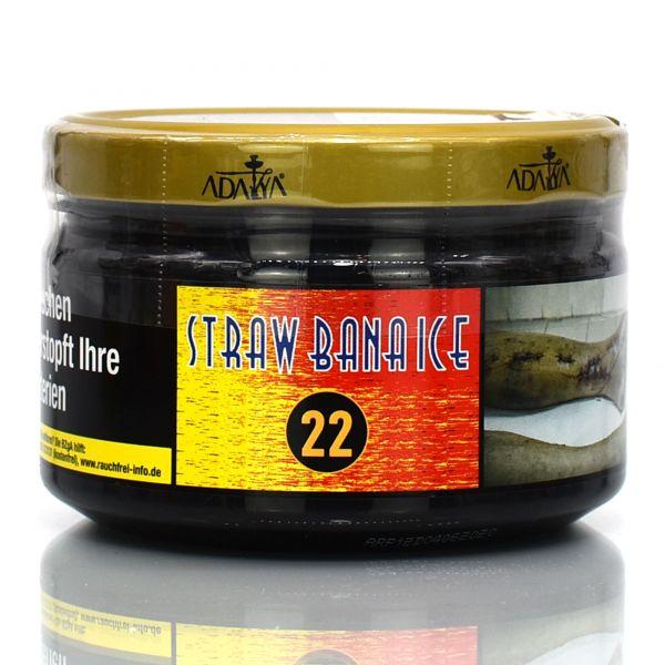 Adayla Tobacco 200g - Straw Bana Ice #22