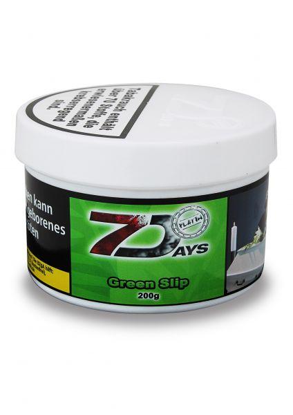 7 Days Tabak Platin 200g - Green Slip