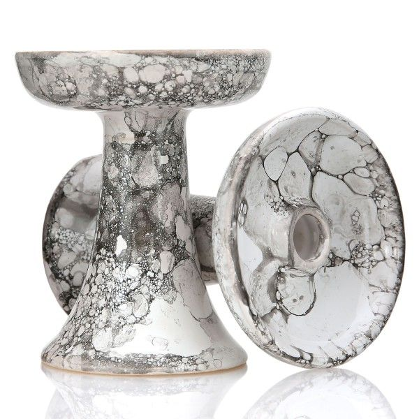 Magma Bowl Shisha Tabakkopf Marble White Black