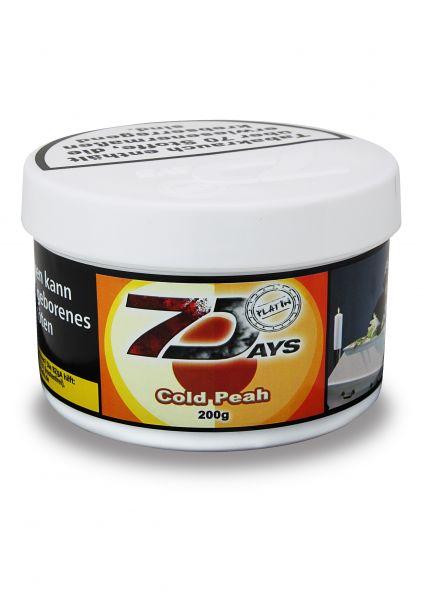 7 Days Tabak Platin 200g - Cold Peah