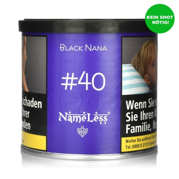 NameLess Tobacco 200g - #40 Black Nana