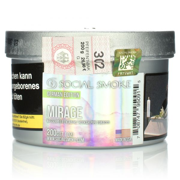 Social Smoke Tobacco 200 g - Mirage
