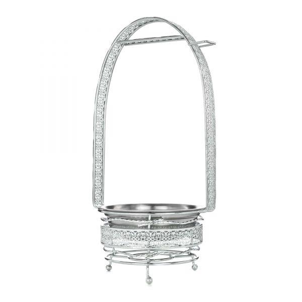 Cyborg Hookah - Kohlenbehälter Silver Mittel