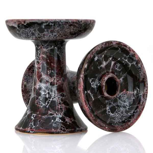 Magma Bowl Shisha Tabakkopf Night Black Red