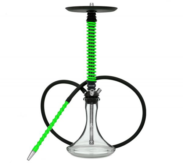 Mamay Customs Coilover Black-Green Shisha