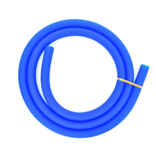 Silikonschlauch matt Blau
