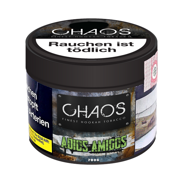 Chaos Tobacco 200g - Adios Amigos