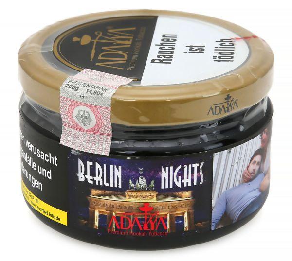 Adalya Tobacco | Berlin Nights Tabak 200g