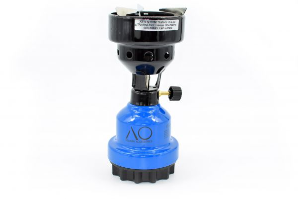 AO Gaskocher Kohleanzünder | Blau