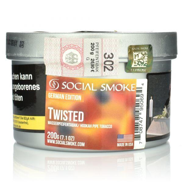 Social Smoke Tobacco 200 g - Twisted