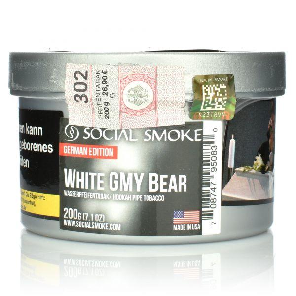 Social Smoke Tobacco 200 g - WHITE GMY Bear