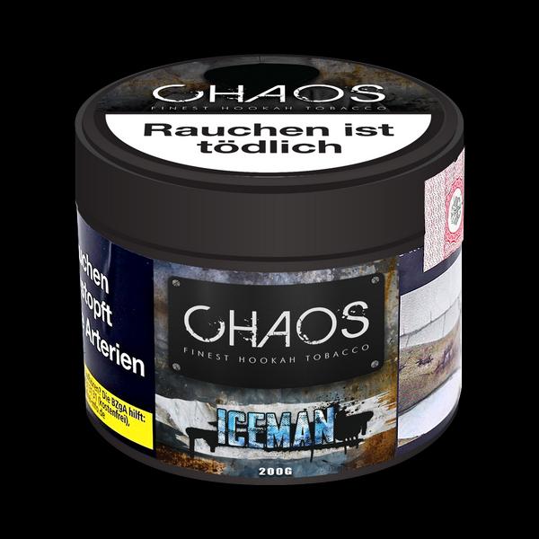 Chaos Tobacco 200g - ICE MAN