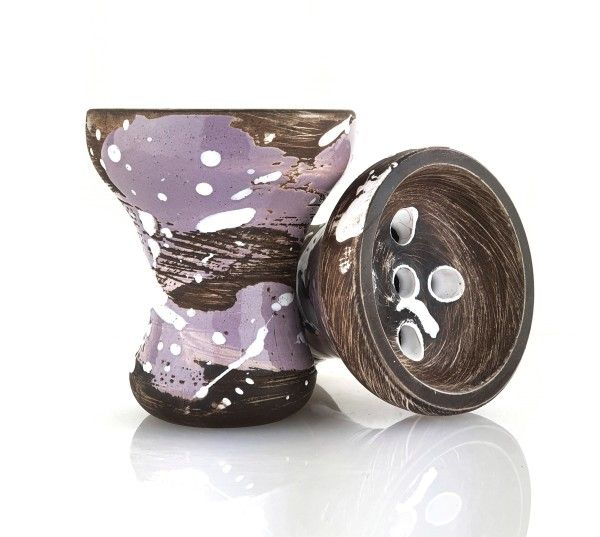 Kolos Turkkilainen Purple Splatter Tabakkopf