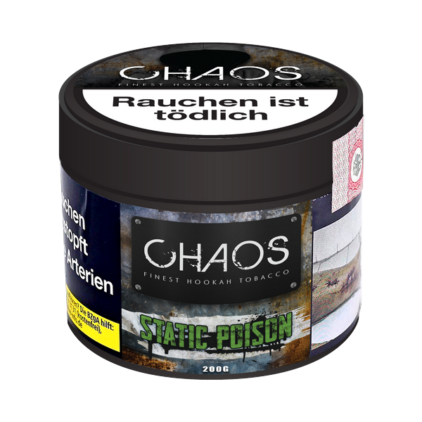 Chaos Tobacco 200g - Static Poision
