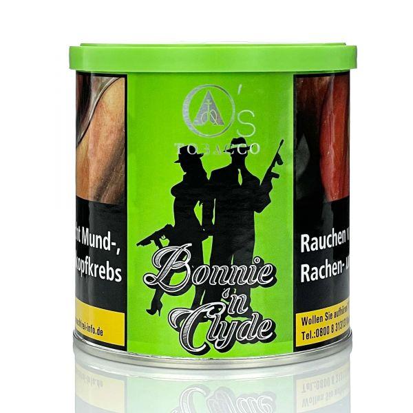 O's Tobacco Green 200g - Bonnie & Clyde