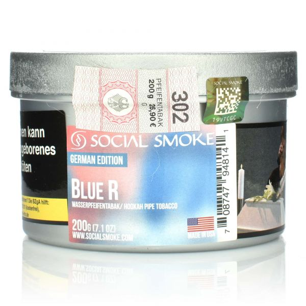 Social Smoke Tobacco 200 g - Blue R